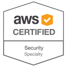 AWS Certified Security - Specialty badge