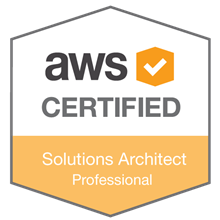 AWS Certified Solutions Architect - Professional badge