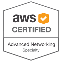 AWS Certified Advanced Networking - Specialty badge